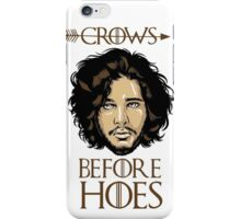Crows Before Hoes Cover iPhone Case/Skin