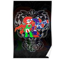 Ivy & Harley V2 - Gothamettes Poster