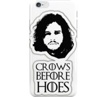 Crows Before Hoes Damen iPhone Case/Skin