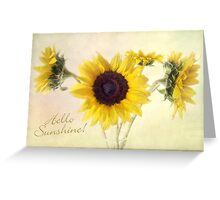 Hello Sunshine Card Greeting Card