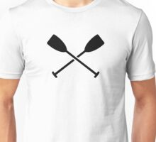Crossed Paddles Unisex T-Shirt