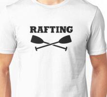 Crossed Paddles Rafting Unisex T-Shirt