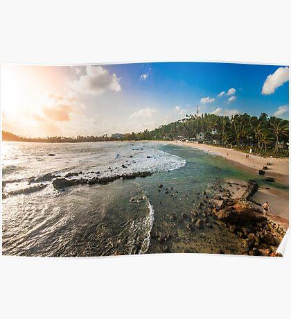 Mirissa Beach, Sri Lanka. Poster