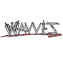 Raw Wavves Photographic Print