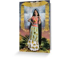Señora de los Milagros / Lady of Miracles Greeting Card