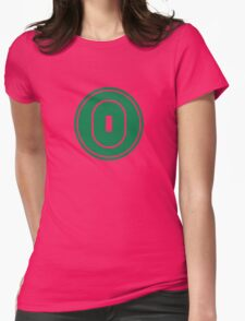 Cricket field Womens Fitted T-Shirt