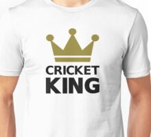 Cricket king champion Unisex T-Shirt