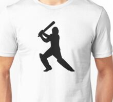 Cricket player Unisex T-Shirt