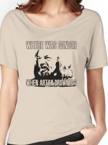 Where was Gondor? Women's Relaxed Fit T-Shirt