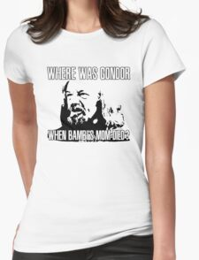 Where was Gondor? Womens Fitted T-Shirt