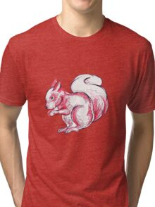 Red Squirrel Tri-blend T-Shirt