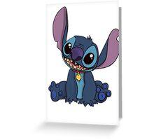 Cute Stitch Greeting Card