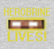 Herobrine Lives One Piece - Long Sleeve