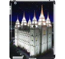 Salt Lake Temple Starry Night 20x24 iPad Case/Skin