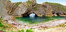 Stair Hole - Luworth Cove - HDR by Colin J Williams Photography