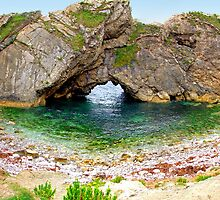 Stair Hole - Luworth Cove - HDR by Colin  Williams Photography
