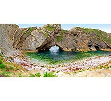 Stair Hole - Luworth Cove - HDR Photographic Print