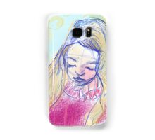 Beautiful Contemplative Gal Samsung Galaxy Case/Skin