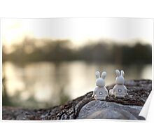 Bunny - Scenic Overlook at Sunset Poster