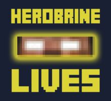 Herobrine Lives Kids Clothes