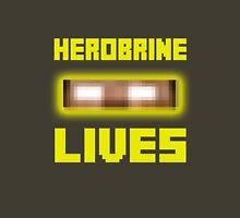 Herobrine Lives Unisex T-Shirt