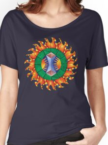 Shine On Mandala Women's Relaxed Fit T-Shirt
