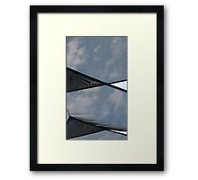 See past it, be past it. Framed Print