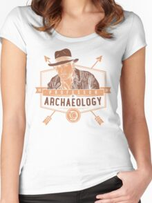 Professor of Archaeology Women's Fitted Scoop T-Shirt