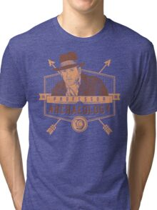 Professor of Archaeology Tri-blend T-Shirt