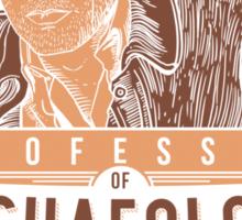 Professor of Archaeology Sticker
