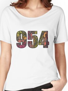 954 Doodle Women's Relaxed Fit T-Shirt