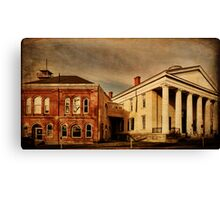 Joined in History Goshen New York Canvas Print