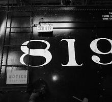 Old 819 by WildestArt