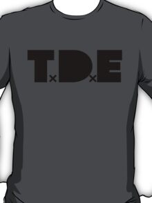 Official TxDxE logo tee T-Shirt