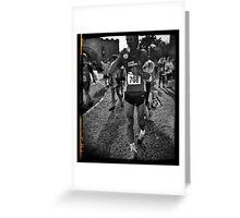 Ripon runners run and run and run... Greeting Card