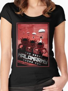 Malamarmy Propaganda Shirt - Pokemon Women's Fitted Scoop T-Shirt