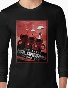 Malamarmy Propaganda Shirt - Pokemon Long Sleeve T-Shirt
