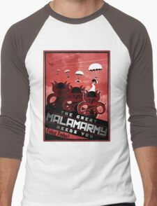 Malamarmy Propaganda Shirt - Pokemon Men's Baseball ¾ T-Shirt