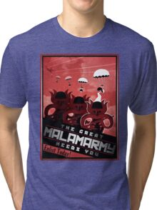 Malamarmy Propaganda Shirt - Pokemon Tri-blend T-Shirt