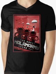 Malamarmy Propaganda Shirt - Pokemon Mens V-Neck T-Shirt