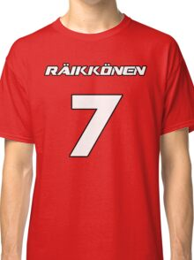 Raikkonen 7 Classic T-Shirt