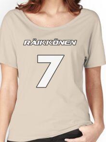Raikkonen 7 Women's Relaxed Fit T-Shirt