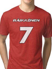 Raikkonen 7 Tri-blend T-Shirt