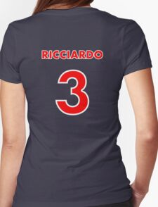Ricciardo 3 Womens Fitted T-Shirt