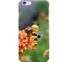 Bee Girl - Buzzing around the bee-utiful garden iPhone Case/Skin