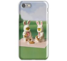 Bunny - Picnic Time iPhone Case/Skin
