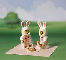 Bunny - Picnic Time by emmkaycee