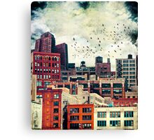 Rooftop #6 Canvas Print