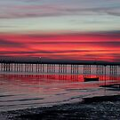 southend pier sunset by Perggals© - Stacey Turner