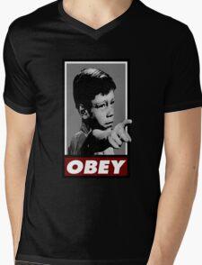 Twilight OBEY/ It's a good life! Mens V-Neck T-Shirt
